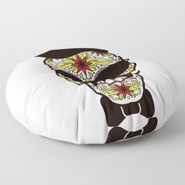 Mr. Sugar Skull Floor Pillow