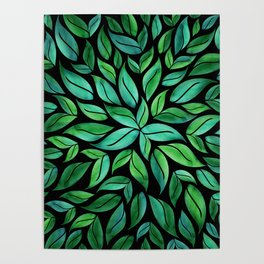 Night Leaves Poster