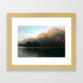 Koh Phangan at sunrise Framed Art Print
