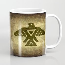 Symbol of the Anishinaabe, Ojibwe (Chippewa) on  parchment Coffee Mug