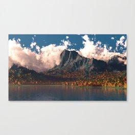 Autumn Cliffs Canvas Print