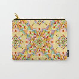 Pastel Mandala Rainbow Carry-All Pouch