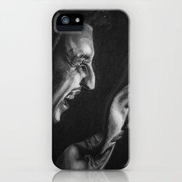 Pirandello's Mask iPhone Case