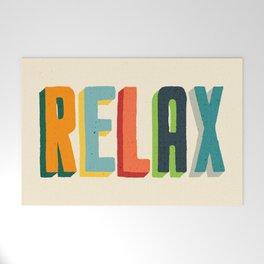 Relax Welcome Mat