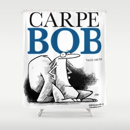 carpe bob Shower Curtain