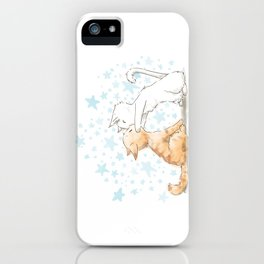 When We Kiss, I See Stars iPhone Case