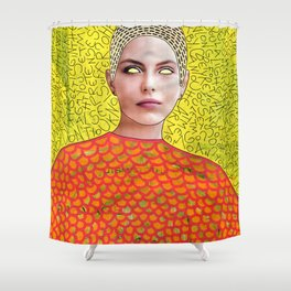 You're The Queen Of The Superficial Shower Curtain