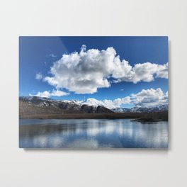 Mt. St. Helens from Coldwater Lake Metal Print