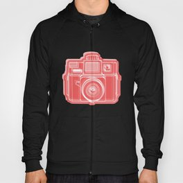 I Still Shoot Film Holga Logo - Red Hoody