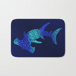 Ombre Blues Hammerhead Bath Mat
