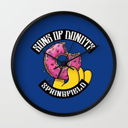 Sons Of Donuts / Simpsons / Donuts Wall Clock