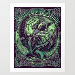 Est. 2011 Art Print