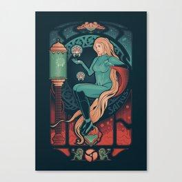 Aran Nouveau Canvas Print