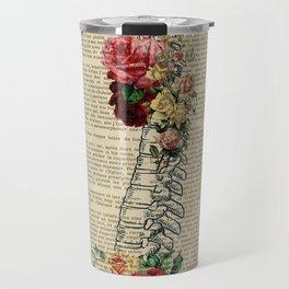 spine anatomy Travel Mug