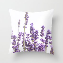 Purple Lavender #1 #decor #art #society6 Throw Pillow