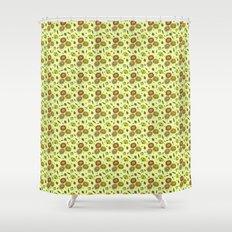 Cute Floral Shower Curtain
