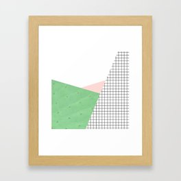 its simple IV | cactus edition Framed Art Print