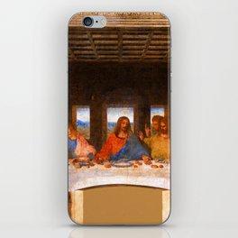 The Last Supper by Leonardo da Vinci  Jesus Christ iPhone Skin