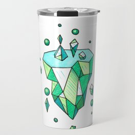 Little Emerald World Travel Mug