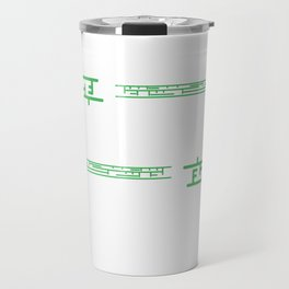 I Write the Beast Code tee design for everybody. Awesome gift this holiday for your friends too!  Travel Mug