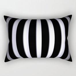 black-and-white -03- Rectangular Pillow