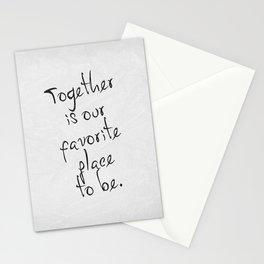 Together 01 Stationery Cards