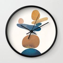 Balancing Stones 28 Wall Clock
