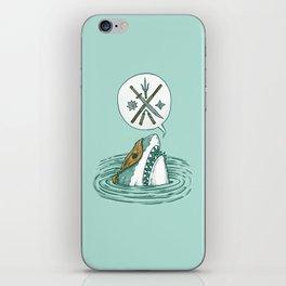 The Ninja Shark iPhone Skin