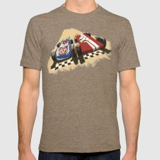 Pinewood Derby! Tri-Coffee LARGE Mens Fitted Tee