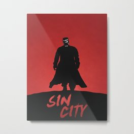 Sin City Metal Print