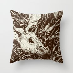 doe-eyed Throw Pillow