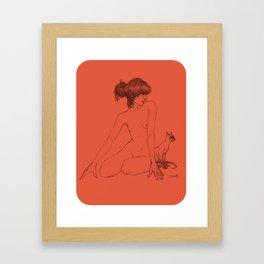 Siamese Twins Framed Art Print