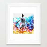 ronaldo Framed Art Prints featuring Ronaldo by Cr7izbest