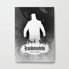 Frankenstein 1818-2018 - 200th Anniversary INV Metal Print