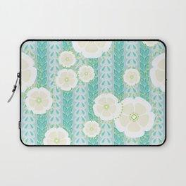 Kanzashi Willow - blues Laptop Sleeve