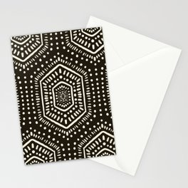 Boho Painted Dark Stationery Cards
