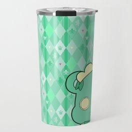 Monochromatic Kuma Lulu Travel Mug