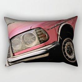 Pink Benz Rectangular Pillow