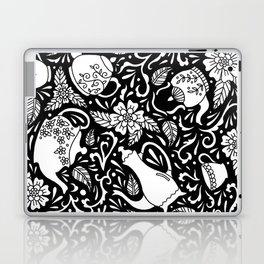 Tea Time Black and White Laptop & iPad Skin