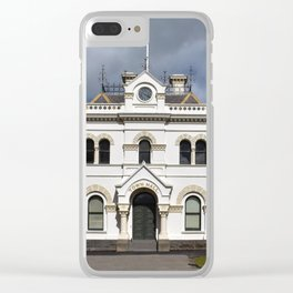 Clunes Town Hall Clear iPhone Case