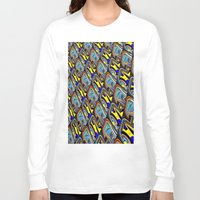 scales Long Sleeve T-shirts featuring Scales by David  Gough