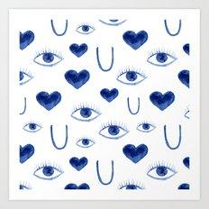 See U Art Print