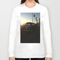 vw Long Sleeve T-shirts featuring VW by Sabrina Daniella