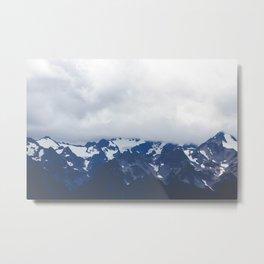 Olympic Mountains, Washington Metal Print