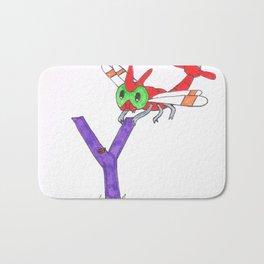 Y is for Yanma Bath Mat