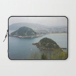 La Concha Beach, San Sebastian - Donostia-San, Spain II Laptop Sleeve