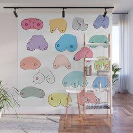 Boobies Wall Mural