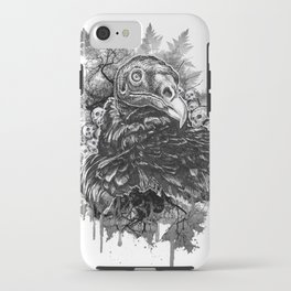 Vulture and Pine iPhone Case