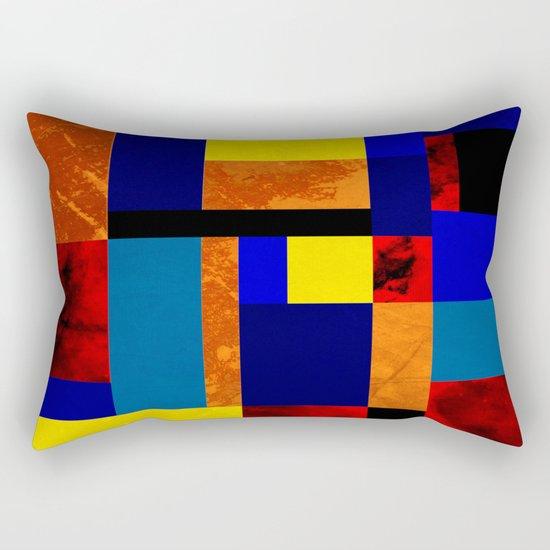 Mondrian #7 Rectangular Pillow
