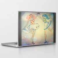 witch Laptop & iPad Skins featuring witch by Elide G